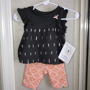 Burt's Bees Baby Organic Cotton Set New With Tags